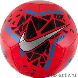 Мяч футбольный Nike Pitch арт.SC3807-644 р.5