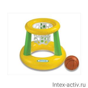 """Надувной игровой центр """"Баскетбольное кольцо"""" Intex 58504 3+"""