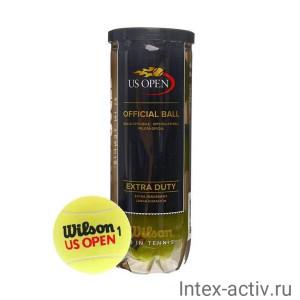 Мяч теннисный WILSON US Open Extra Duty арт. WRT106200 3шт.