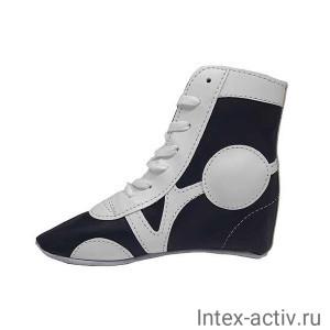 Самбовки Rusco Sport SM-0102 (нат. кожа, синий, р.44)