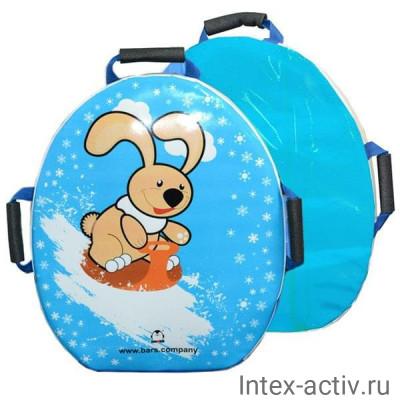"""Санки-ледянка мягкая """"Snowkid"""" 50 см (Шустрик)"""