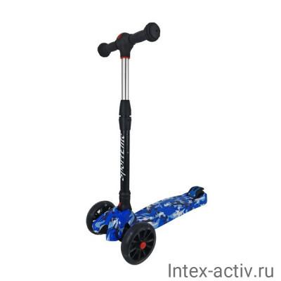 Самокат 4-х колесный SportElite SE600 граффити