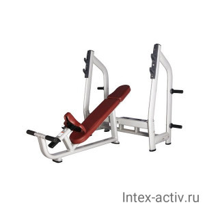 Скамья для жима с положительным наклоном Bronze Gym H-025 (коричневый)