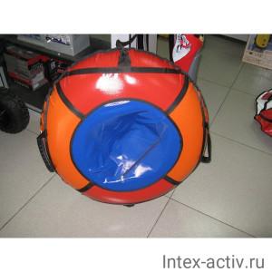 Надувные санки (тюбинг) BOLK BK004R-LUXE надувные санки до 130кг 100см