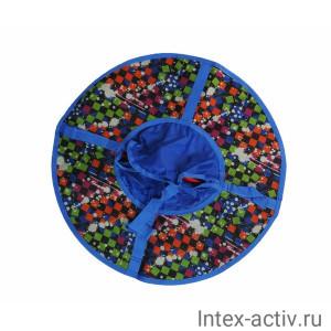 Надувные санки (тюбинг) серия Дизайн 65 см ВСД/1