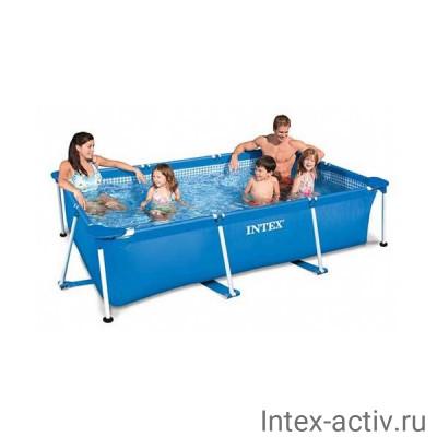 "Бассейн каркасный прямоугольный Intex 28270NP ""Frame Pool Rectangular"" (220х150х60см)"
