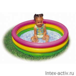 Детский бассейн Intex 58924 Сияние Заката (86х25см)