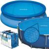 Согревающее солнечное покрывало для круглых бассейнов Intex 29020 (59958) (244 см)