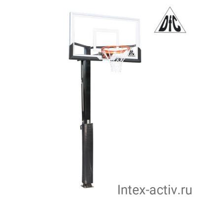 Баскетбольная стационарная стойка DFC ING54U
