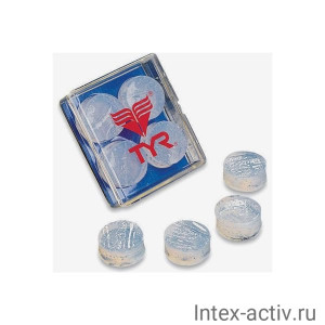 Беруши TYR Soft Silicone Ear Plugs, LEP/101 (белый)