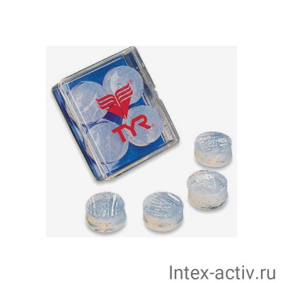 Беруши TYR Soft Silicone Ear Plugs, LEP/101 (белый)