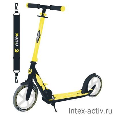 Самокат 2-колесный Ridex Marvel R 2.0 200 мм, желтый