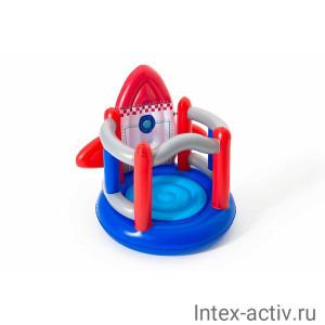 "Надувной батут BestWay 52286 ""Ракета"" (155х142х145 см) 3-6лет"