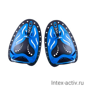 Лопатки для плавания 25Degrees B-Stroke р.L (Black/Blue)