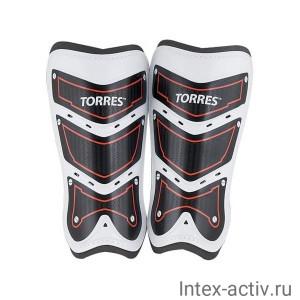Щитки футбольные Torres Training арт. FS1505L-RD р.L