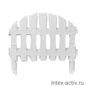 """Декоративный заборчик """"УЮТНЫЙ САД"""" 4шт. в упаковке"""