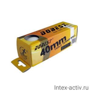 Мяч для настольного тенниса DOBEST BA-01 * 3шт/уп