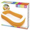 Семейный надувной бассейн Intex Swim Center Family 57181 Mandarin 229*147*46 см