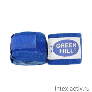 Бинт боксерский Green Hill BP-6232a 2,5м синий
