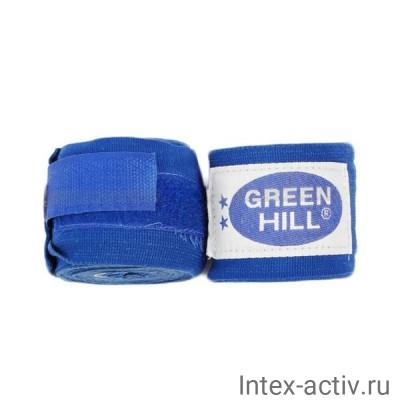 Бинт боксерский Green Hill BP-6232a 2,5м синий