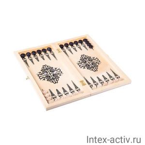 "Нарды ""Тигры"" арт.095-12 средние"
