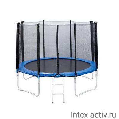 Батут Sport Elit GB10202 14FT (4,27м) с защитной сеткой и лестницей