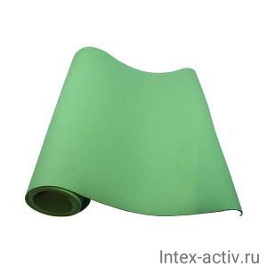 Коврик для йоги и фитнеса YL-Sports BB8312 (173*61*0,4см) салатовый