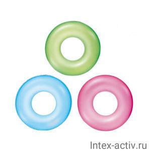 Круг для плавания Bestway 36024 Неоновый иней (76см)