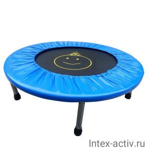Батут DFC Trampoline Fitness 32 дюйма б/сетки (81см), поручень
