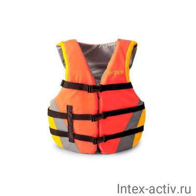 Спасательный жилет взрослый Intex 69681 (40-70кг)