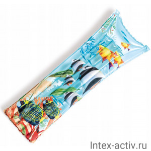 """Матрас надувной Intex 59720 """"Океан"""" (183х69см)"""