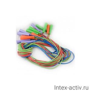 Скакалка резиновая 3 м мультиколор