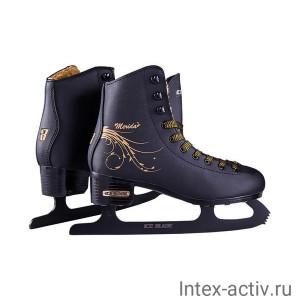 Коньки фигурные Ice Blade Merida синт.кожа с мехом р.35