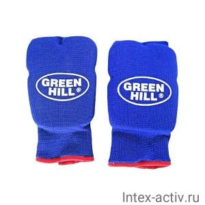 Накладки на кисть Green Hill Эластик HP-6133 синий р.XS