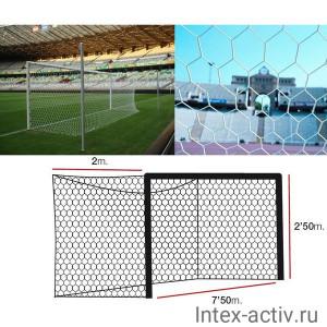 Футбольная сетка профессиональная EL LEON DE ORO арт.12444035000