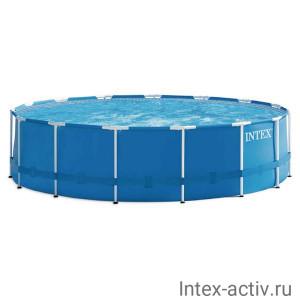 """Бассейн каркасный Intex 28242NP """"Metal Frame Pool"""" 457х122см"""