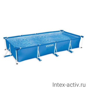 "Бассейн каркасный прямоугольный Intex 28273NP ""Frame Pool Rectangular"" (450х220х84см)"