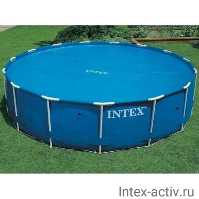 Согревающее солнечное покрывало для круглых бассейнов Intex 29025 (59955) (549 см)