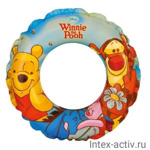 """Надувной круг Intex 58228 """"Винни Пух"""" Disney (51см) 3+"""