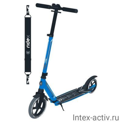 Самокат 2-х колесный Ridex Syrex R 230/200 мм, синий