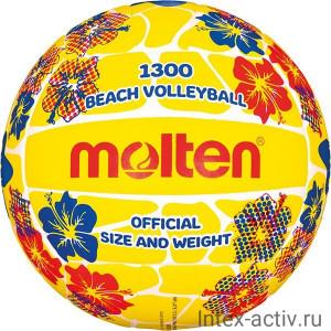 Мяч для пляжного волейбола MOLTEN V5B1300-FY р.5