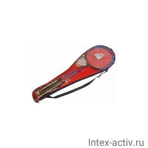 Набор для бадминтона (2 ракетки, 2 волана, чехол) HS-002