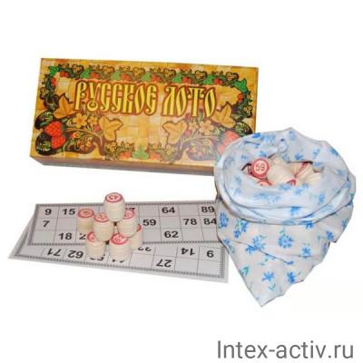 """""""Русское лото"""" в картонной коробке"""