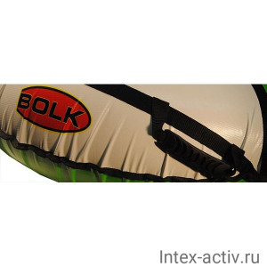 Надувные санки (тюбинг) BOLK BK006R-LUXE до 140кг 120см